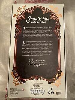 Disney D-23 Limited Edition 17 Poupée Blanche Neige Nouveau En Boîte