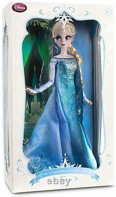 Disney Store 2013 Surgelé Snow Queen Elsa 17 Édition Limitée Poupée