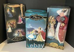 Disney Store Alice & Queen Of Hearts Fairytale Designer Edition Limitée Ensemble De Poupées