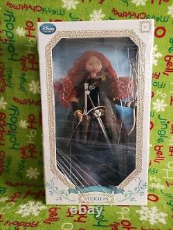 Disney Store Exclusive Brave 17 Édition Limitée Princess Merida Doll Nib