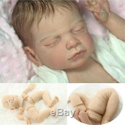 Diy Doux Tin Silicone Reborn Kits Tête 3/4 Limbs Pour 20 '' Reborn Baby Doll