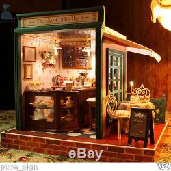 Diy Miniature Kit Artesanat Projet The Star Coffee Bar Musique Poupées Maison En Bois