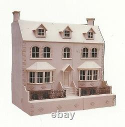 Dolls House 1/12th The Priory Victorian House 40 Wide Large Kit Par Dhd