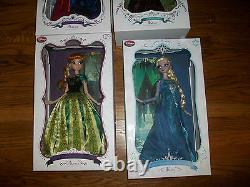 Edition Limitée Novembre Disney Anna Et Elsa Poupée Frozen 17 Le 2500
