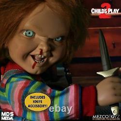 Enfants Jouer 2 Menacing Chucky Parler Mega Échelle 15 Doll Figurine Mezco Toyz