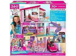Etanche Poupée Barbie Dreamhouse Domaine Maison Avec Playset 70+ Accessoires Jouets