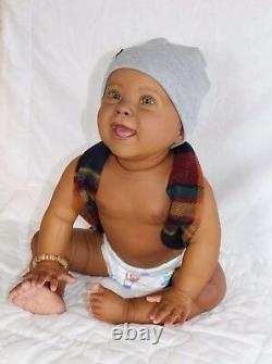 Ethnique/aa/african Reborn Toddler/baby Boy/girl Personnalisé