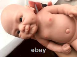 Full Body Silicone Reborn Baby Doll Réaliste Lifelike Boy Doll Bebe Reborn Doll