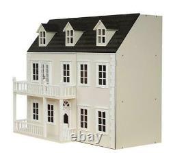 Glenside Grange Victorian Dolls House Painted Flat Pack Kit 112 Échelle