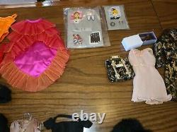 Huge Lot Intégrité Jouets Poppy Parker 22 + Mode Mode Royalty Ru Paul