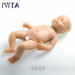 Ivita 15'' Full Silicone Reborn Doll Realistic Dormir Baby Girl Toy Cadeau De Noël