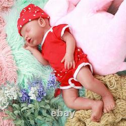 Ivita 18 Silicone Rebirth Baby Doll Handmade Sleeping Baby Girl Doll Toys Cadeaux