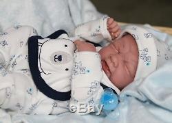 Je Suis Nouveau Bébé! Pleurer Preemie Berenguer Lifelike Doll + Sucette Réincarné Extras