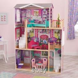 Jumbo Meubles Dollhouse American Girl Toy Tall Doll Play House Grand Mansion