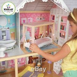 Kidkraft Kaylee Dollhouse Filles Poupée En Bois Maison Convient Poupées Barbie