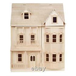 L'ashburton Prêt À Assembler Dolls House Kit 12e Échelle