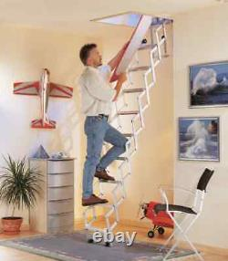 Loft Ladder Concentina Style Alufix, 3 Modèles Disponibles