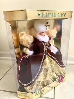 Mattel 15646 Noël Barbie Happy Holidays 1996 Édition Spéciale