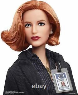 Mattel Barbie Les X-files 25ème Anniversaire 2018 Agent Dana Scully Signature Doll