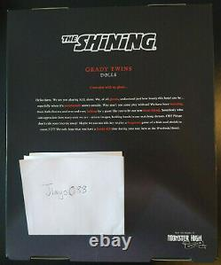 Mattel The Shining Grady Twins Monster High Collector Doll In Hand
