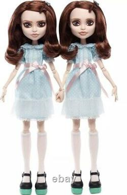 Mattel The Shining Grady Twins Monster High Collector Doll Set New Ships Today