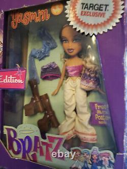 Mga Brazt 2001 Tous Les 4 Bratz Cloe D'origine, Sasha, Yasmin, Jade