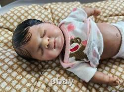 Mini-poupée En Silicone Pour Bébé Corps Complet