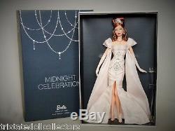 Minuit Célébration De L'an 2014 Nbdc Convention Barbie Platinum Bdh43 Nrfb