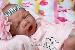 Mon Adorable Bébé! Berenguer Prématuré Lifelike Doll W Réincarné Sucette, Bouteille
