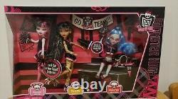 Monster High 3 Pack Fearleadering Draculaura Ghulia Cleo. Nouveau Dans La Boîte