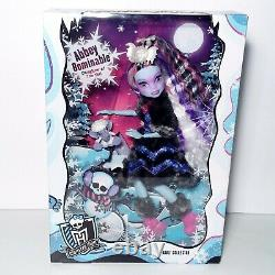 Monster High Adulte Collector Exclusive Abbey Bominable Doll Mattel 2017 Rare