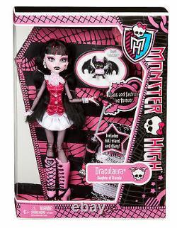 Monster High Draculaura Favoris Original Collection Bbc65 Ovp