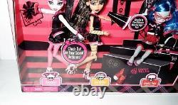 Monster High Fearleadering 3 Pack Draculaura Ghulia Cleo Dolls Mattel Nouveau