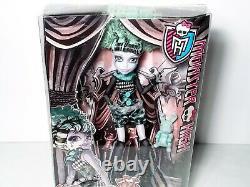 Monster High Freak Du Chic Twyla Circus Ghouls Doll Mattel Nouveau