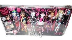 Monster High Original Ghouls 6 Pack Draculaura Lagoona Clawdeen Mattel Nouveau