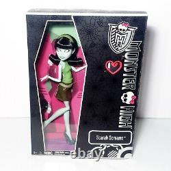 Monster High Sdcc Exclusive Scarah Screams And Hoodude Voodoo Dolls Mattel Nouveau