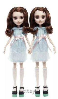 Monster High The Shining Grady Twins Mattel Collectors Doll Limited Edition Nouveau