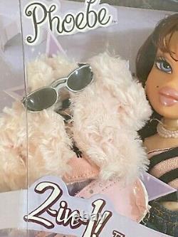 New Bratz Twiins Phoebe & Roxxi Twinz Twins Première Édition Mga Rare 2004 Nrfb