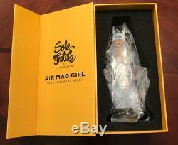 Nike Air Mag Fille 2018 Version Par Aritist Reina Koyana Signée À La Main! Ltd Rare