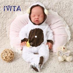 Noël Prix Spécial Ivita 18 Full Body Filled Silicone Doll Closed Eyes Boy Baby
