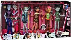Nous Sommes Monster High Student Disembody Doll Set 5 Pack Gilda Goldstag Slo Mo