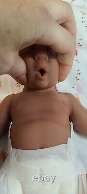 Nouveau 12 Full Body Silicone Baby Boy Doll William