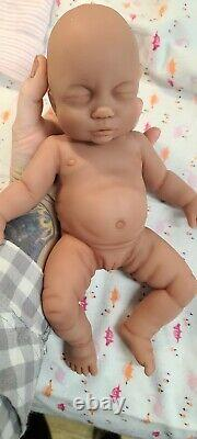Nouveau 12 Full Body Silicone Baby Girl Doll Willow