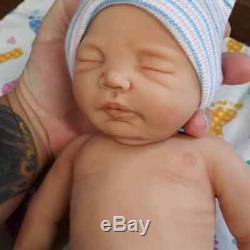 Nouveau 12 Micro Prématuré Full Body Silicone Baby Girl Doll Charlotte