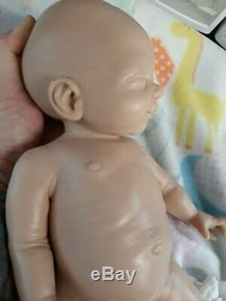 Nouveau 14 Prématuré Full Body Silicone Baby Girl Doll Tabitha