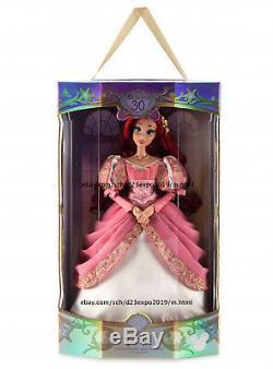 Nouveau 2019 Disney D23 Expo Petite Sirène 30e Anniversaire Ariel Doll 17 Le 1000