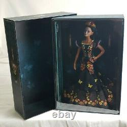 Nouveau Barbie Dia De Los Muertos Collectible Doll 2019 Avec Cert D'authenticité