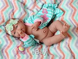 Nouveau Bébé Sourire Doll Réel Réincarné 15 Pouces En Vinyle Berenguer Life Like Vivant