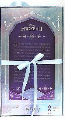 Nouveau Disney Parks Frozen 2 II Snow Queen Elsa Doll Limited Edition 8500
