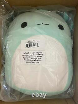 Nouveau Squishmallow 16 Peluche Axolotl Teal Green Anastasia Kellytoy Doll Pillow XL